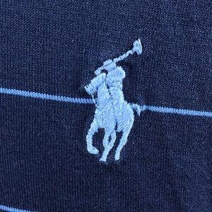 Polo Ralph Lauren Pima cotton blue polo shirt XL
